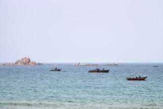 Şaizeci de nord-coreeni salvaţi, în urma unui incident nautic, în Marea Japoniei