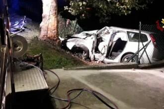Un român a murit într-un accident în Italia, în timp ce se întorcea din club