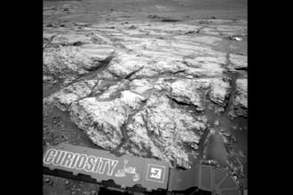 Descoperire uriașă pe Marte. Ce a găsit robotul Curiosity într-un crater