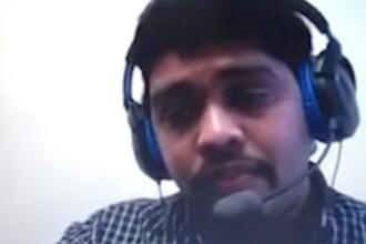 A încercat să-și păcălească angajatorul pe Skype. Ce a făcut un indian la un interviu
