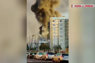 Incendiu uriaş în oraşul francez Lyon. Autorităţile nu ştiu încă de la ce a pornit