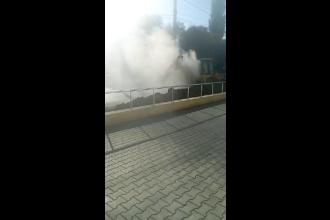 Pericol de explozie la Galați din cauza unei conducte de gaze. Un bloc a fost evacuat