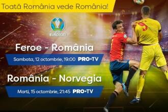 România, susținută de peste 20.000 de copii cu Norvegia. Meciul se vede LIVE la Pro TV