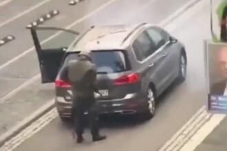 Momentul atacului din Germania surprins de camere. O persoană a fost arestată