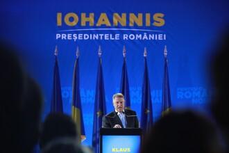 """Iohannis: """"Îmi doresc foarte mult ca moțiunea să fie încununată de succes"""""""