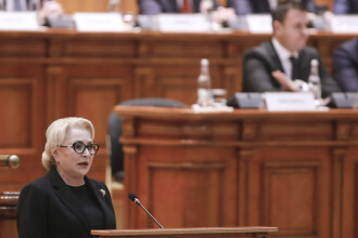 Discursul lui Dăncilă în Parlament. Atac fără precedent la adresa lui Ponta și Tăriceanu