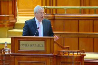 Tăriceanu, ironic în Parlament: Dragă Viorica, să clipeşti de două ori şi te eliberăm