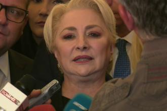 """Prima reacție a Vioricăi Dăncilă după demiterea Guvernului PSD: """"Acum ne dorim să plecăm"""""""