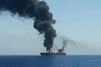 Un petrolier iranian ar fi fost lovit de rachete în largul Arabiei Saudite.