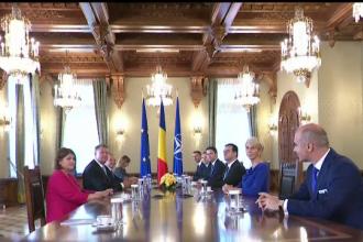 Culisele consultărilor de la Cotroceni: se fac liste cu posibili miniştri. Ce își doresc liderii opoziției