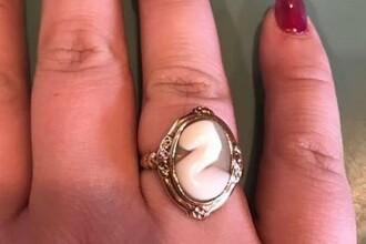 A vrut să se laude cu inelul de logodnă, dar a omis un detaliu. De ce a fost criticată