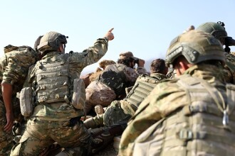 "Forțele kurde din Siria, după ofensiva Turciei: ""Americanii ne-au vândut"""