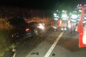 Impact teribil în Sibiu: doi tineri de 23 de ani au murit, alți doi sunt la spital