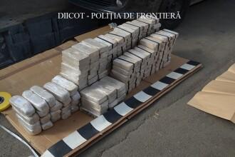 Captură de heroină în valoare de 1.500.000€. Un român și 3 moldoveni cercetați