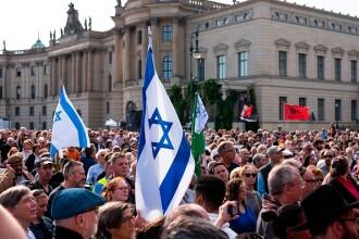 Manifestație împotriva antisemitismului la Berlin, în urma atacului din Halle