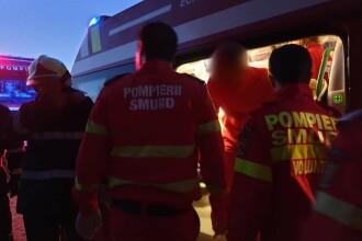 Un tânăr a murit după ce mașina pe care o conducea a căzut în albia unui pârâu