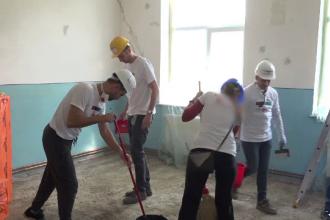 Școală renovată complet de angajații unei companii. Reacţia părinţilor elevilor