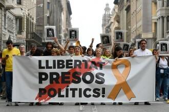 Condamnări pentru liderii separatiști catalani, în dosarul rebeliunii din 2017