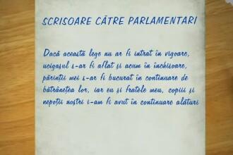 """""""Sunteți complici la crimă"""". Mesaj pentru parlamentari de la o femeie care și-a pierdut părinții"""