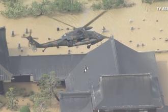 Operațiune de salvare dramatică. O femeie a murit în timp ce era evacuată cu elicopterul