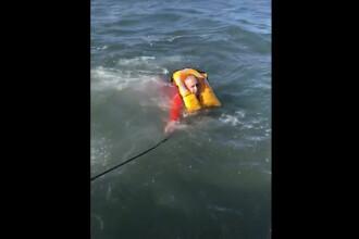 Român la un pas de moarte în SUA. A căzut de la bordul unui vapor în apa înghețată
