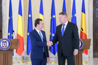 Klaus Iohannis l-a desemnat pe Ludovic Orban pentru funcția de premier al României