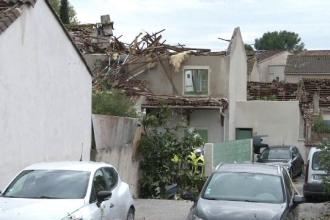Dezastru pe Coasta de Azur, după un fenomen meteo extrem de rar