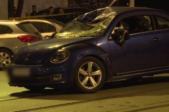 Un biciclist a fost lovit mortal de o mașină în Capitală după ce nu s-a asigurat la un viraj