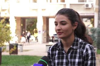 Premieră în estul Europei: tânăra refugiată afgană care a primit o bursă de studiu în România