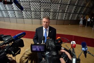 Iohannis a gafat într-un discurs. A confundat statul care deține președinția Consiliului UE