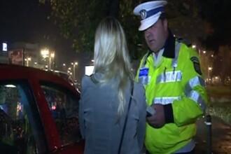 Șoferiță băută și fără permis, oprită la Iași. Copilul ei de 4 ani se afla în dreapta