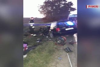 Un bărbat a intrat cu mașina într-un camion, încercând să-și ucidă soția