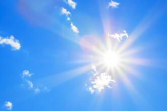 Cum va fi vremea în week-end. Meteorologii anunţă temperaturi neobişnuite