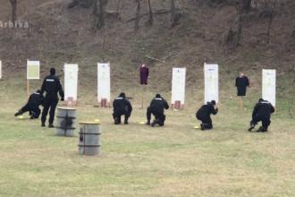 Un jandarm din Botoșani a fost împușcat în poligonul de tragere de un coleg