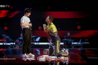 """Tudor Chirilă i-a dedicat o scenetă unei concurente: """"Ai cântat cu ambele sexe în tine"""""""