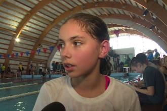 Concurs de înot pentru 200 de copii. Cu ce impresie a rămas o sportivă din Republica Moldova