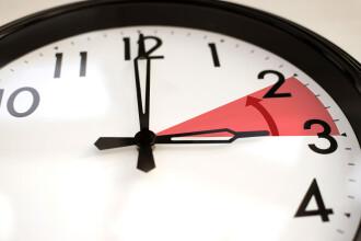 Trecem la ora de iarnă. Ceasurile se dau înapoi în noaptea de 26 spre 27 octombrie