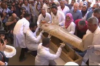 Descoperire fascinantă în Egipt: 30 de sarcofage cu o vechime de peste 2000 de ani