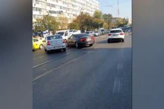 Șoferul care a mers pe contrasens și a fugit de poliţie a ajuns la spital. Ce a pățit