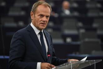 Tusk recomandă liderilor statelor UE să accepte amânarea Brexitului