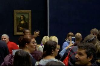 Marile operele lui Leonardo da Vinci, expuse la Muzeul Luvru din Paris.