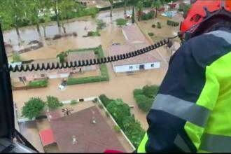 Inundații grave în Spania după o serie de furtuni violente. Pagubele sunt uriașe