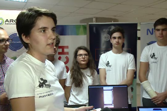 Elevi din Oradea au creat o aplicație care rezolvă birocrația din instituțiile de stat
