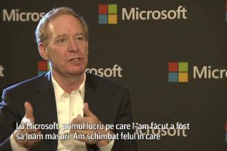 INTERVIU EXCLUSIV. Ce spune preşedintele Microsoft despre dosarul în care apare numele firmei