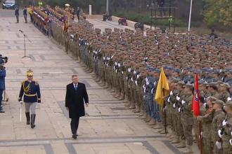 Manifestări de ziua Armatei Române. Reacția copiilor care s-au antrenat alături de militari