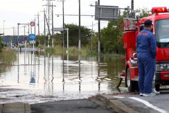 Ploi torențiale și inundații în Japonia. Cel puțin zece persoane au murit. VIDEO