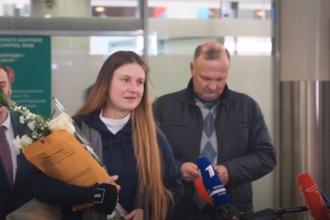 """Agentul rus Maria Butina s-a întors la Moscova. """"A fost umilită"""""""