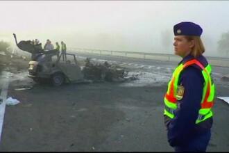 Patru români au murit într-un accident pe autostrada M5 din Ungaria. Precizările MAE
