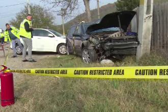 """Accident violent provocat de o șoferită de 67 de ani. """"E pe drum drept, nu înţeleg"""""""