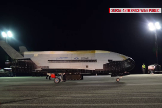 VIDEO cu avionul secret al Air Force care a zburat timp de doi ani în jurul Pământului
